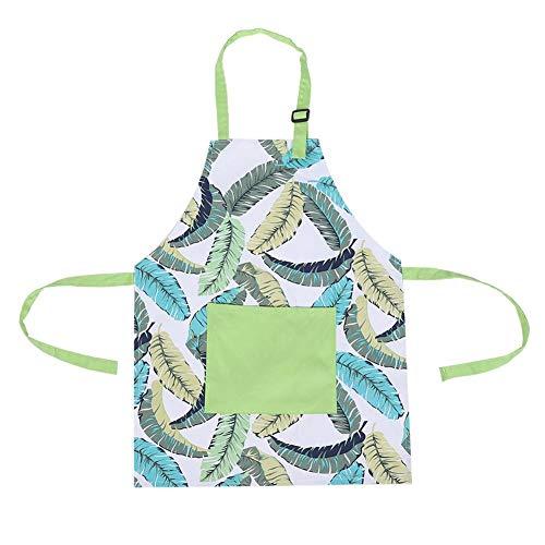 Fdit1 Katoenen kindertasje, schort handwerk, bakken, koken, keuken, koken, BBQ schort MEERWEG verpakking