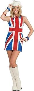 Rubie's 889703STD Official British Invasion Fancy Dress, Standard