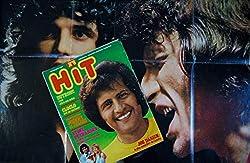 Hit Magazine 8 * 1972 septembre * JO DASSIN DUTRONC CLOCLO JOHNNY JULIEN STONE CHARDEN