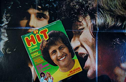 Hit Magazine 8 * 1972 septembre * JO DASSIN DUTRONC CLOCLO JOHNNY JULIEN STONE CHARDEN