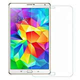 Samsung Tab A 2017 Screen Protector | PRIME RETAIL Tempered Glass Guard for Samsung Tab A 2017 8' T385[9H Hardness][Clear View][Anti-Explosion][2.5D Curved]