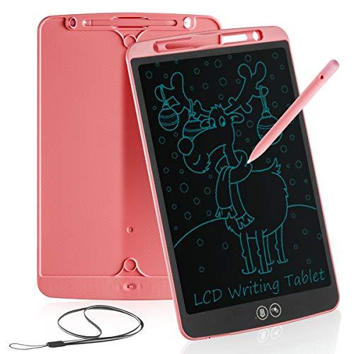 Tableta de Escritura LCD 12 Pulgadas,Erasable Reusable Doodle Pad Tablet for Kids and Adults at Home,School,Office