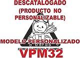 Adhesivo personalizado Bebé a bordo VPC32. DISEÑO EXCLUSIVO. VENDIDO Y ENVIADO POR VPM ORIGINAL. PRODUCTO Y EMPRESA 100% DE ESPAÑA. NO COMPRAR AL VENDEDOR' ifx3wifx3w', son copias ilegales.