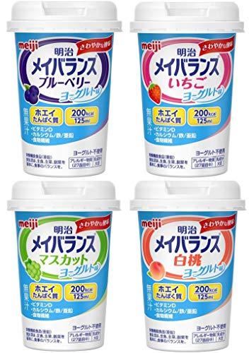 メイバランス Miniカップ ヨーグルトテイスト アソートBOX 125ml×24本