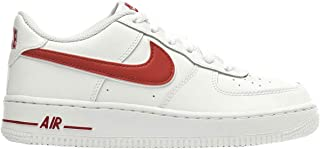 Nike Youth Air Force 1 GS Leather Synthetic Trainers