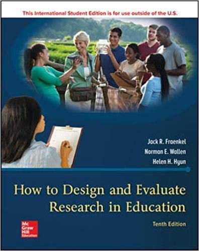 [1260085511] [9781260085518] How to Design and Evaluate Research in Education-Paperback