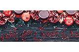 REDS SRL Tappeto Multiuso Cucina SCENDILETTO Lavabile Lavatrice...