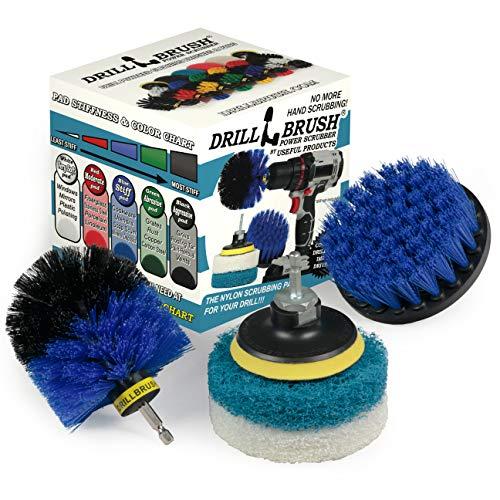 Limpiador para todo uso - cubierta - Taladro Pincel - Estropajo - Kit - Productos de limpieza - Estufa - Anafe - Ollas y sartenes - Horno - Pisos - Baño - Cepillo para fregar - Limpiador Ducha