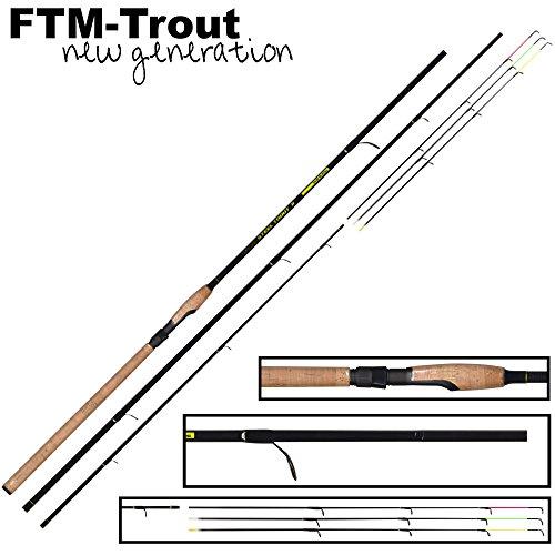 FTM Steel Trout 2 Forellenrute 3m 6-25g - Angelrute zum Forellenangeln, Forellenruten für Forellenteich, Rute für Forellen