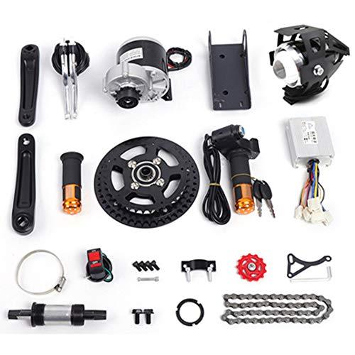 """Electric Bicycle Mid-Drive Motor Kit Brushes Motor Mountain Bike Road Bike Normal Bike Conversion Motor Kit DIY Refit E-Bike Conversion Full Set for 16""""-26"""" Bike (350W 36V)"""