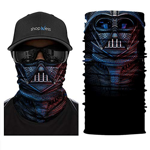 ShopINess Multifunktions Schlauchschal - Darth Vader