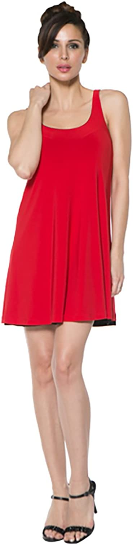 Last Tango Reversible Swing Dress, Red Navy, XLarge