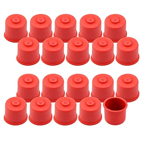com-four® 20x Capsules de jus sucré pour bouteilles de 0,3 et 0,5 litre, taille 1 (20 pièces - 0,3 + 0,5 litres)