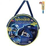 NiLeFo Tienda de campaña para niños PlayTentsPop Up BedtenCastles Regalo de cumpleaños Ropa de Cama decoración (Carpa Estrella)