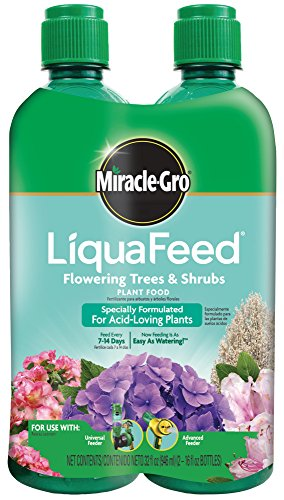 Miracle-Gro LiquaFeed Flowering Trees & Shrubs Plant Food 2-Pack Refills