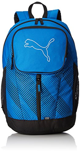 PUMA Rucksack Echo Backpack, Electric Blue Lemonade, 30cm x 46cm x 18cm (26L), 074105 04