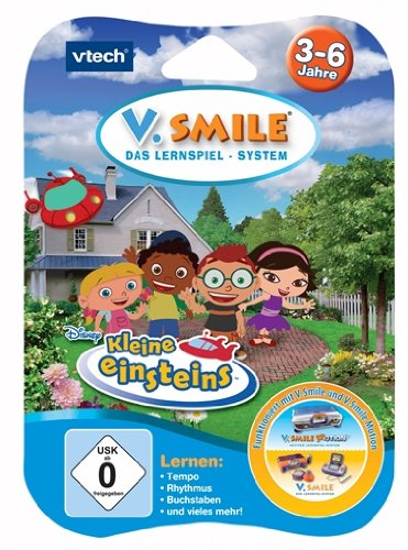 Vtech 80-084164 - V.Smile Motion Lernspiel Kleine Einsteins