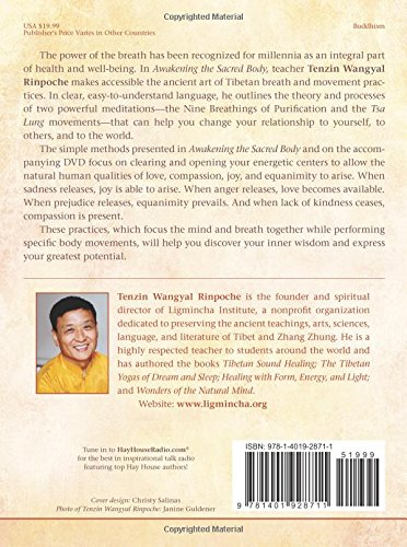 Awakening the Sacred Body: Tibetan Yogas of Breath and Movement