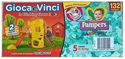 132 PANNOLINI Pampers Baby Dry TG. 5 Junior (11 – 25 kg)