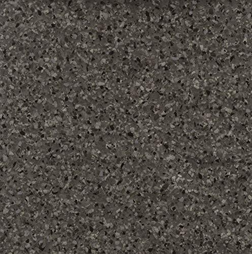 Venilia Klebefolie Granit-Optik, Dekofolie, Möbelfolie, Tapeten, selbstklebende Folie, PVC, ohne Phthalate, anthrazit, 90 cm x 2,1 m, Stärke 0,095mm, 54865