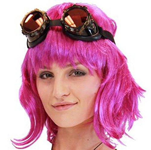 TV Store Scott Pilgrim Vs. The World Ramona Flowers Kostüm Perücke (Hot Pink) One Size Fits Most