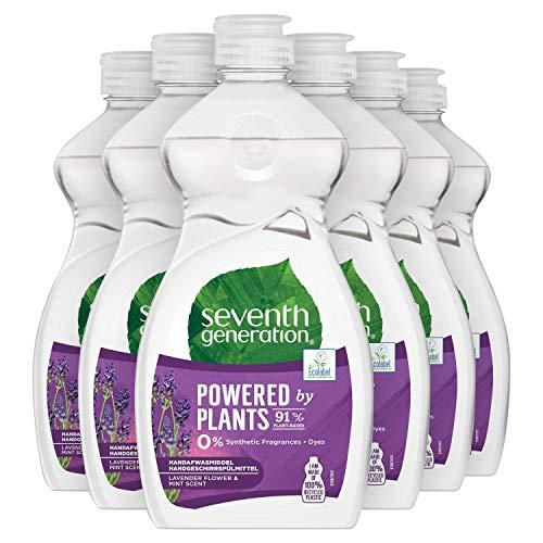 Seventh Generation Afwasmiddel Lavendel & Mint 6 x 500 ml Voordeelverpakking