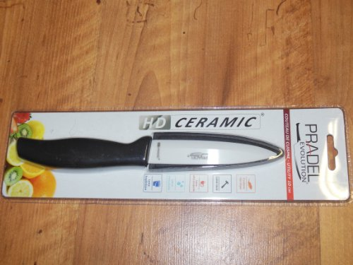 Pradel Evolution - Coltello con Lama in Ceramica, 7,5 cm