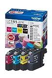 ブラザー インクジェットカートリッジ LC111-4PK 1パック(4色) LC111シリーズ