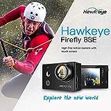 Entweg Action Camera, Firefly 8Se 4K 16Mp WiFi BT FPV Camera 90 ° Senza Distorsioni per Qav250 H210 F450 F550 RC Drone Quadcopter Fotografia Aerea
