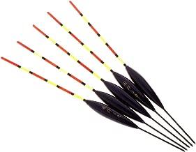 GUOQIAO 5 St/ück//Set Angelpose Boje Barr Holz Fluoreszierend Schwanz Stick schwimmend Holz Tackle Eisangeln Karpfen leuchtendes Zubeh/ör
