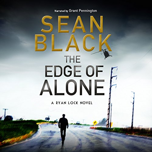 The Edge of Alone audiobook cover art