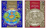 Calendario de Adviento Divino Chocolate Selección – 1 x Leche y 1 x Calendario de Adviento de Chocolate Oscuro