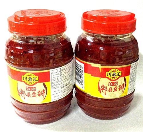 【2個セット】 豆板醤 川老匯 ??豆瓣? 豆板? ?含量1kg ?油 1000g 中国