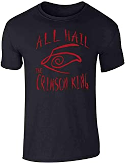 All Hail The Crimson King Graphic Tee T-Shirt for Men
