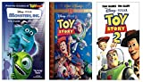 Monsters Inc. + Toy Story + Toy Story 2 VHS