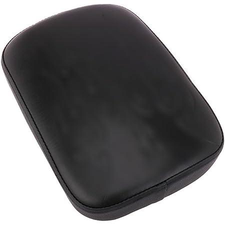 Fast Pro della Sella Pad Cusion Posteriore Sedile passeggero sellino per la Maggior Parte delle Moto//Cruiser//Harley Chopper//Custom XL883/XL200/X48/x72