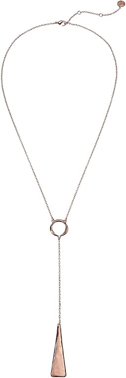 The Sak - Paddle Lariat Necklace 22