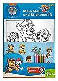 PAW Patrol: Mein Mal- und Stickerspaß: Ausmalseiten, Sticker und Buntstifte