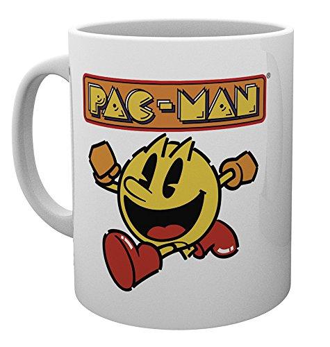 Pac-Man Running and Logo Mug