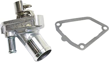 Thermostat Housing compatible with Infiniti FX35 03-08 / Frontier/Nissan Xterra 05-15 180 Deg