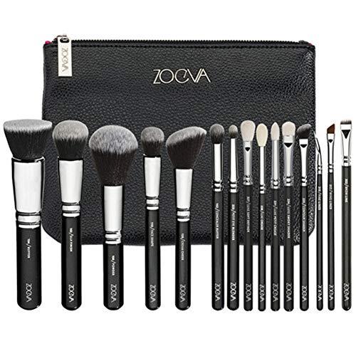 Bürsten-Satz-Make-up-Pinsel-Set Kosmetik Werkzeuge (Handle Color : ZOEVA LOGO 15N)