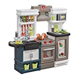 Step2 Modern Metro Kitchen | Modern Play Kitchen & Toy Accessories Set | Kids Kitchen Playset with...