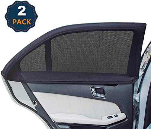 Universal Car Window Shades Side Window Shade for Car Breathable Mesh Baby Car Rear Window Sunshades product image