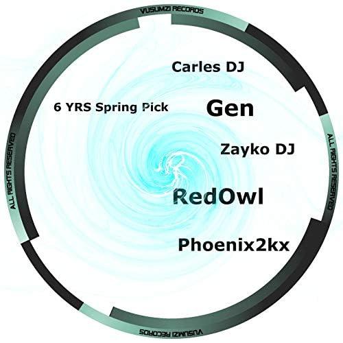 Gen, Carles DJ & Phoenix2k & Lorenzo Chi