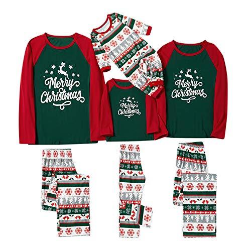 Byeel Weihnachten Schlafanzug Fun Nachtwäsche Familie Herren Damen Lang Pyjama Set...