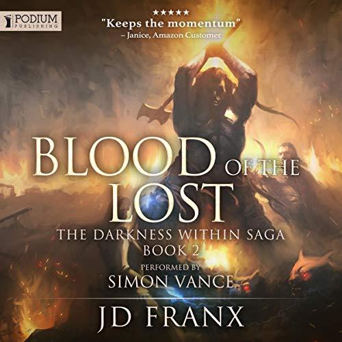Page de couverture de Blood of the Lost