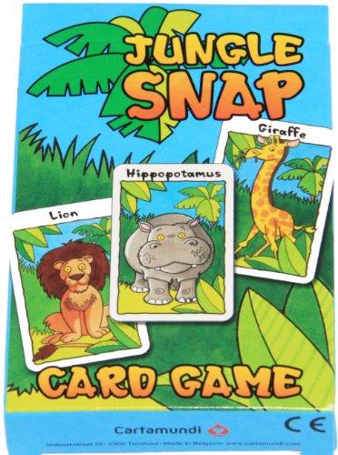 Jungla Snap Infantil y Familia Juego De Cartas
