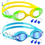 Best Swim Goggles - COOLOO Kids Swimming Goggles, 2 Pack Swim Goggles Review