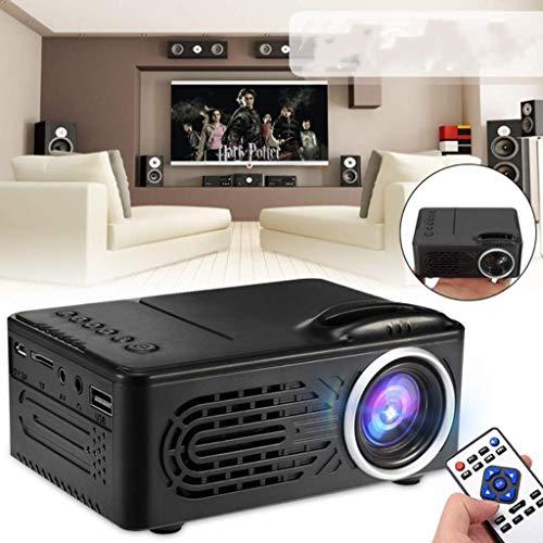 LED Videoprojecteur Portable 7500 Lumens, Retroprojecteur Supporte Full HD 1080P, Mini Projecteur...