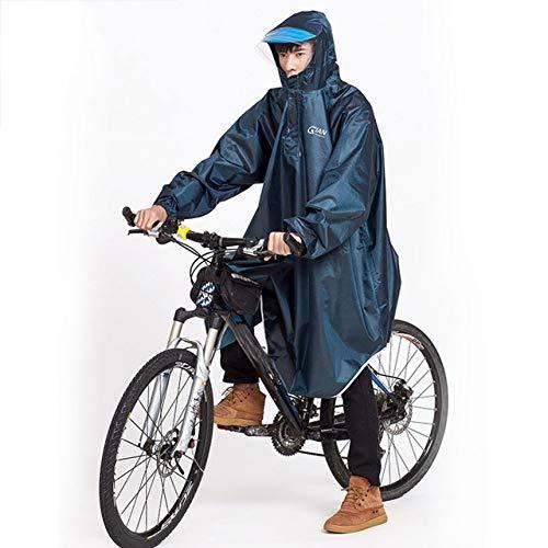Chubasquero Moto Escudo Bicicleta De La Motocicleta Del Impermeable For Mujer For Hombre Poncho De Lluvia Con Capucha A Prueba De Viento Lluvia Cabo Scooter Cubierta De Bicicletas | Impermeables | She